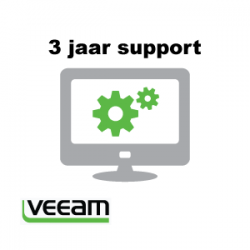 Veeamshop: 3 jaar support