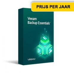 Veeamshop - Veeam Backup Essentials VUL - box - jaar