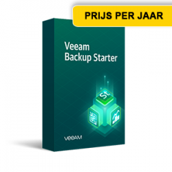 Veeamshop - Veeam Backup & Replication Starter VUL - box - jaar licentie