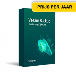 Veeamshop - Veeam Backup for Micrsoft 365 - box - jaar