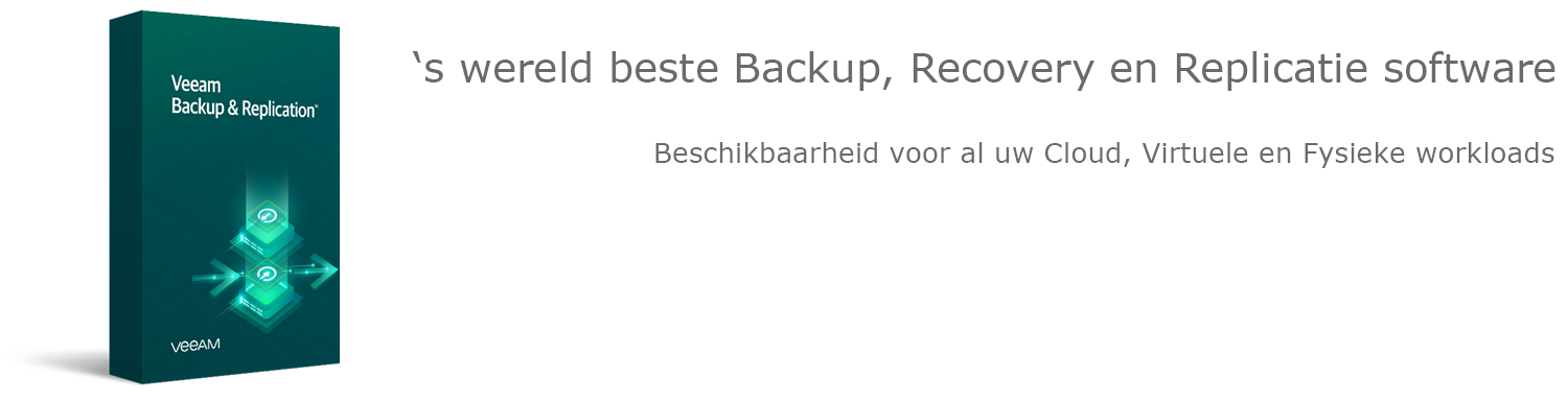 Veeamshop: Veeam Backup & Replication header