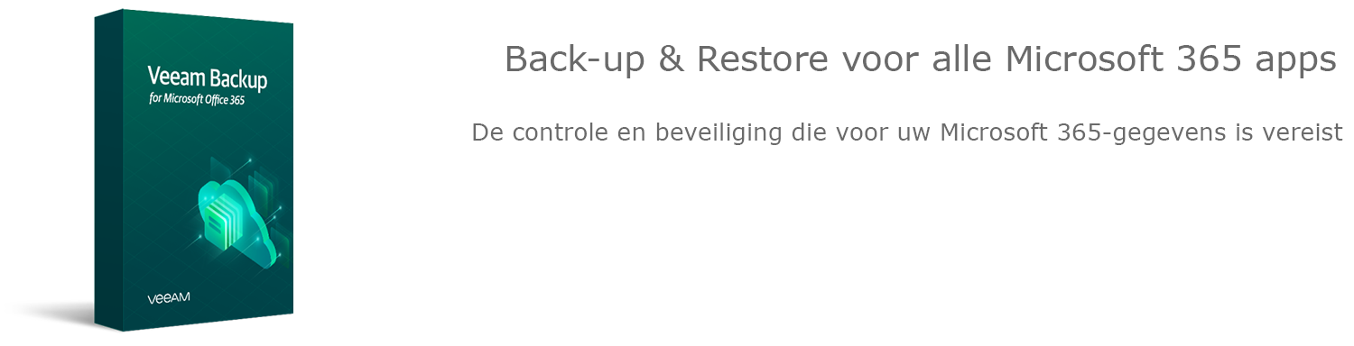 Veeamshop - Veeam Backup for Microsoft 365 - header