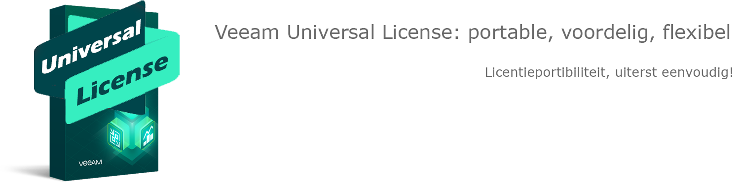 Veeamshop: Veeam Universal License - header